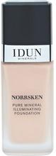IDUN MINERALS Liquid Foundation Norrsken Jorunn 30 ml