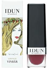 IDUN MINERALS Lipstick Vinbär 4 gr