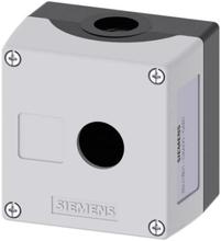 Siemens SIRIUS ACT 3SU1801-0AA00-0AB1 Tomhölje 1 monteringsplats (L x B x H) 85 x 85 x 64 mm omärkt Grå 1 st