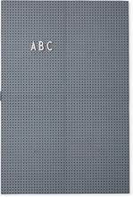 Design Letters - Design Letters Opslagstavle A3, Mörkgrå