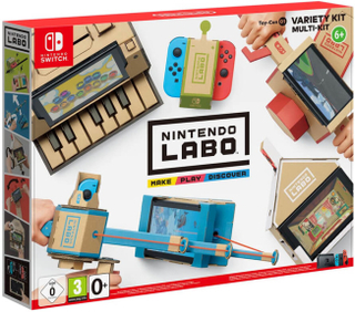 Labo Variety Kit till Switch