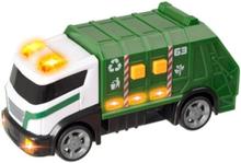 Teamsterz, Renhållningsbil 15 cm med ljud & ljus