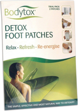 Bodytox Detox Foot Patches 2 kpl 2 kpl