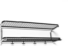Essem Design - Classic 650 Hattehylde 90cm, Sort/ Krom