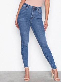 Gina Tricot Gina Curve Jeans Skinny Blue