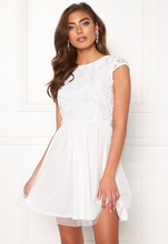 BUBBLEROOM Ayla dress White 34