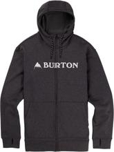 Burton Men's Oak Full-Zip Hoodie Herr Tröja Svart M