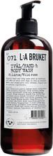 L:a Bruket - Flytende Såpe 450ml, Villrose