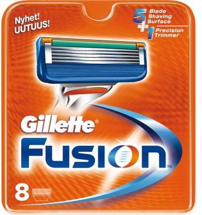 Gillette Gillette Fusion 8 pack rakblad 7702018867059 Replace: N/AGillette Gillette Fusion 8 pack rakblad