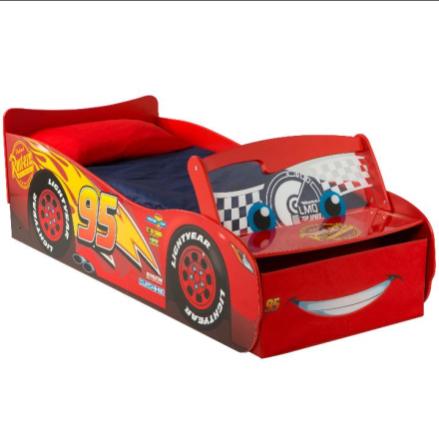 Disney Cars barneseng med LYS – NYHET