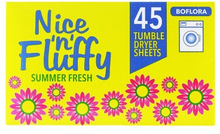 Boflora Nice 'n' Fluffy Tumble Dryer Sheets 45 st