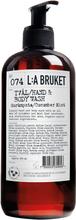 L:a Bruket - Flytende Såpe 450ml, Agurk/Mynte