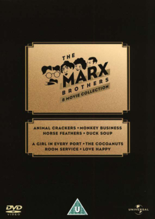 The Marx Brothers 8 Movie Collection (8-disc) - DVD