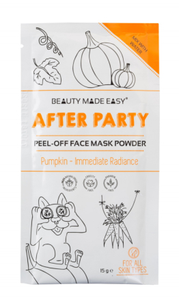BEAUTY MADE EASY After Party Peel-Off Mask Powder 15 g
