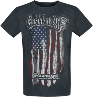 Gas Monkey Garage - American Garage - T-shirt - svart