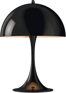 Louis Poulsen - Panthella Mini Bordlampe, Sort