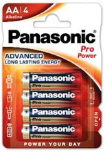 Panasonic Pro Power AA LR6 4-pack alkaliska batterier