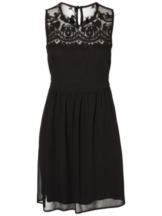 VERO MODA Lace Sleeveless Dress Women Black