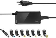 HAMA Nätdel Notebook Universal 100-240V 19V/65W 8x Adapter