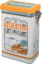 Plåtburk Kaffeburk 'Café Croissant'