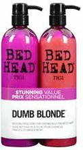 Tigi Bed Head Colour Combat Dumb Blonde Tweens Tuplapakkaus (750 ml) shampoo & hoitoaine