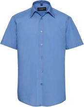 Skjorta Goodwin blå slim fit kort ärm