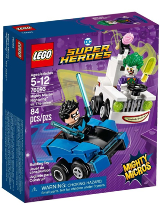 City 76093 Mighty Micros: Nightwing™ vs. The Joker™ - Proshop