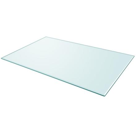 vidaXL Bordsskiva härdat glas rektangulär 1000x620 mm