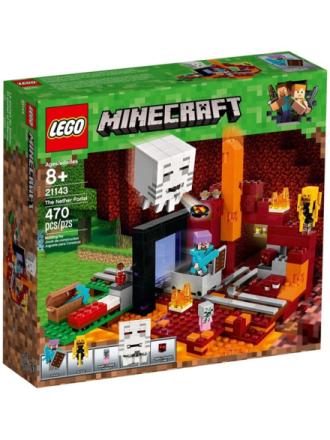 Minecraft 21143 Netherportalen - Proshop