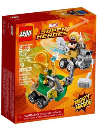 City 76091 Mighty Micros: Thor vs. Loki - Proshop