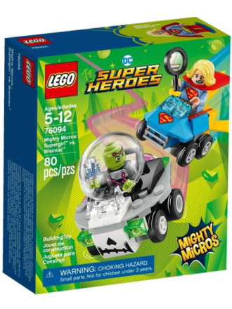 City 76094 Mighty Micros: Supergirl™ vs. Brainiac™ - Proshop