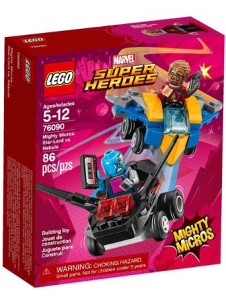 City 76090 Mighty Micros: Star-Lord vs. Nebula - Proshop
