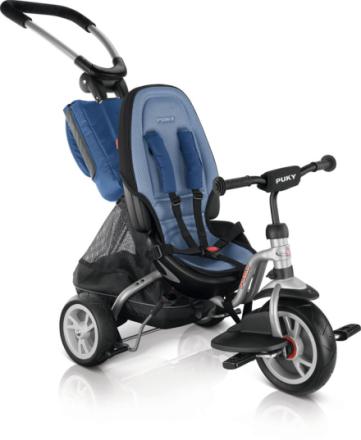 Puky CAT S6 CEETY Lapset lasten polkupyörät , sininen/hopea 2019 Lasten kulkuneuvot
