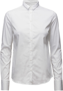 Tilda Shirt Langærmet Skjorte Hvid MOS MOSH