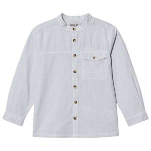 Wheat Axel Shirt Ocean Blue 6år/116cm - Babyshop