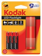 Kodak Waterproof Led Flashlight Red 1 stk