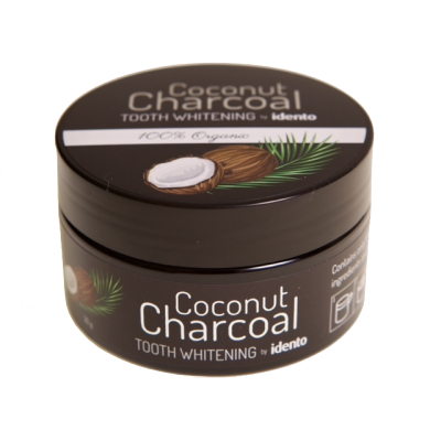 Idento Coconut Charcoal Tooth Whithening 30 g