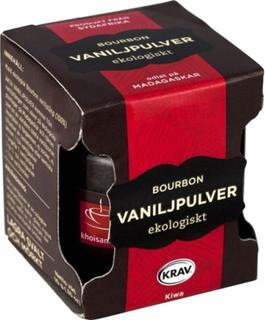 Khoisan Tea Bourbon Vaniljpulver Eko 10 g