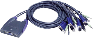 ATEN CS64US-AT 4 porte KVM-omskifter VGA USB 2048 x 1536 pix