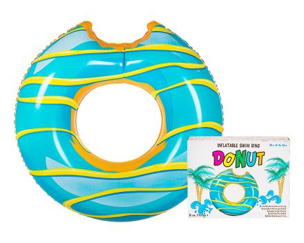 Blue Frosting Donut Float