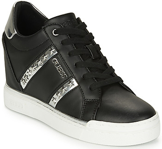 Guess Sneakers FL5FAY-ELE12-BLACK-SILVER Guess