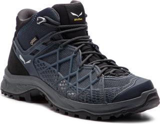Trekking-skor SALEWA - Wild Hiker Mid Gtx GORE-TEX 61340-0982 Black Out/Silver