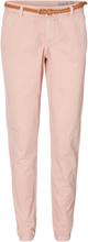 VERO MODA Chino Trousers Women Pink