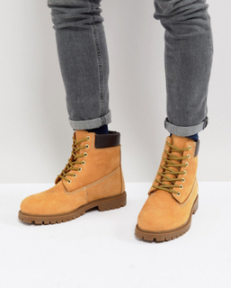 Dickies Fort Worth Lace Up Boot - Tan