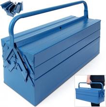 Verktøykasse i stål - blå