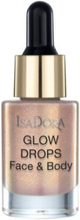 Isadora Glow Drops Face & Body Golden Edition Highlighter Golden Galaxy