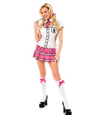 Playboy Skolejente Kostyme