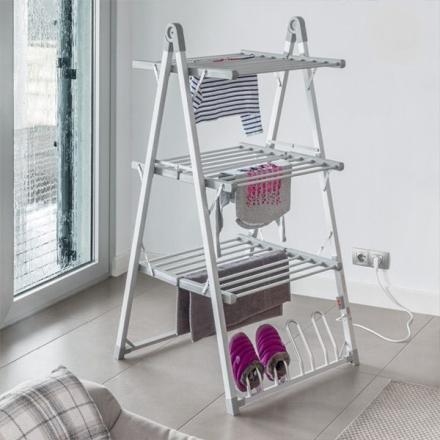 Elektrisk tørkestativ - Til klær og sko