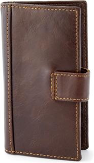 Cederbrun RFID Plånbok i skinn