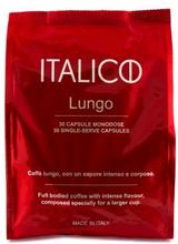 Italico Italico Lungo kaffekapslar, 30 st 7340123100090 Replace: N/AItalico Italico Lungo kaffekapslar, 30 st